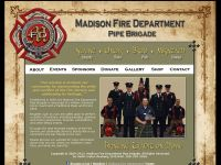 Madison Fire Department Pipe Brigade